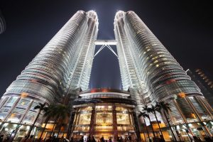 The Petronas Towers was opened during the filming of Don